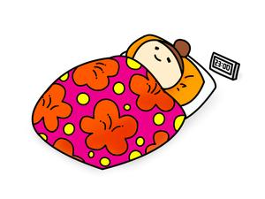 休日の惰眠を貪るぐうたらだらだら生活